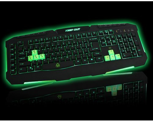 TECLADO KEEP OUT F90S GAMING RETROILUMINADO USB