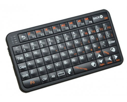 TECLADO INALÁMBRICO AIR MOUSE US LAYOUT NEGRO