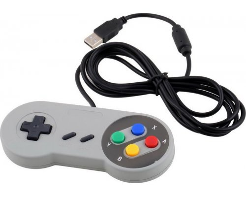 GAMEPAD RETRO EMULADOR SNES USB