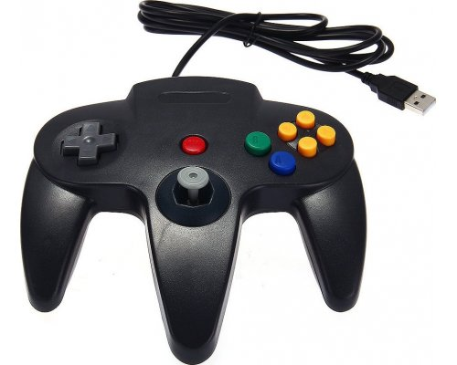 GAMEPAD RETROLINK TIPO NINTENDO64 USB