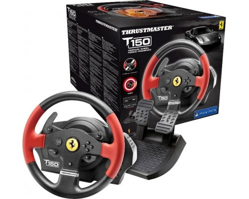 VOLANTE THRUSTMASTER T150 FERRARI PS4/ PS3/ PC