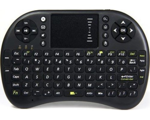 MINI TECLADO + TOUCHPAD T2 ANDROIDTV/MEDIACENTER RECARGABLE
