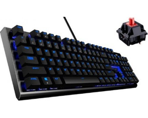 TECLADO MECÁNICO THUNDERX3 TK50RD GAMING PRO RED-SWITCH