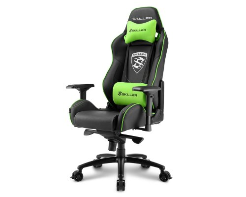 SILLA GAMING SHARKOON SKILLER SGS3 BLACK/GREEN