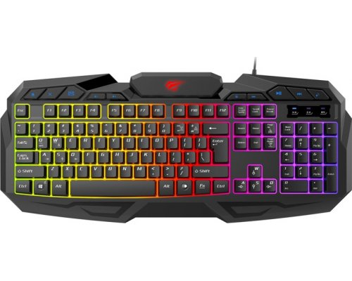 TECLADO HAVIT GAMING HV-KB406L RETROILUMINADO