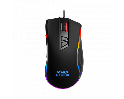 RATÓN MARS GAMING MM218 10000dpi CHROMA RGB