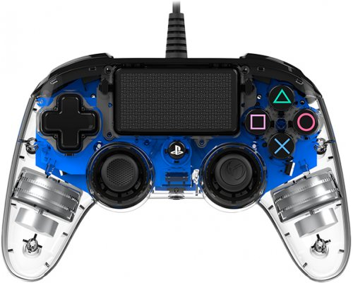 GAMEPAD NACON GAMING PS4 OFICIAL ILLUMINATED COMPACT AZUL