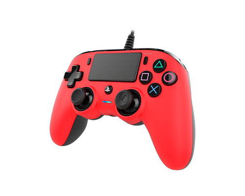 GAMEPAD NACON GAMING PS4 OFICIAL COMPACT ROJO