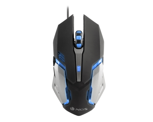 RATÓN NGS GAMING GMX-100 7COLORES 6BOTONES 2400dpi
