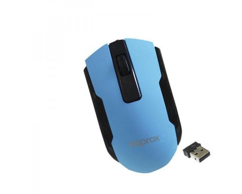 MOUSE OPTICO WIRELESS OFFICE BLUE APPROX