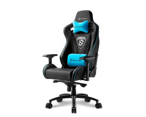 SILLA GAMING SHARKOON SKILLER SGS4 BLACK/BLUE