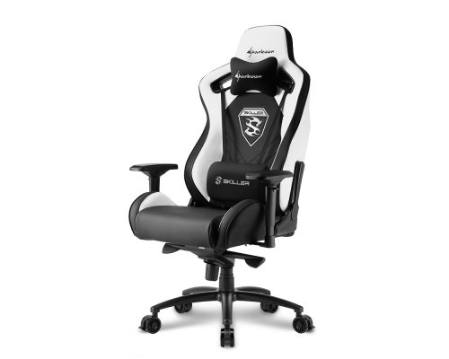 SILLA GAMING SHARKOON SKILLER SGS4 BLACK/WHITE