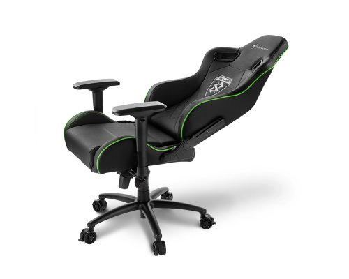 SILLA GAMING SHARKOON SKILLER SGS4 BLACK/GREEN