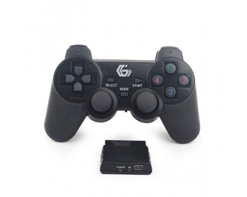 GAMEPAD INALÁMBRICO GEMBIRD PC/PS2/PS3 DUAL SHOCK