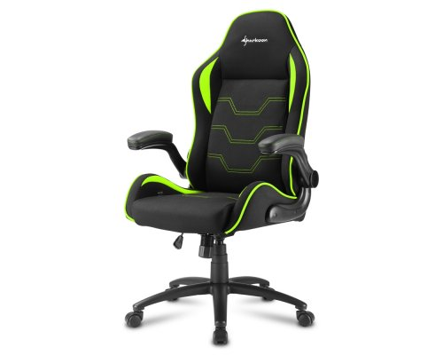 SILLA GAMING SHARKOON ELBRUS 1 NEGRO/VERDE