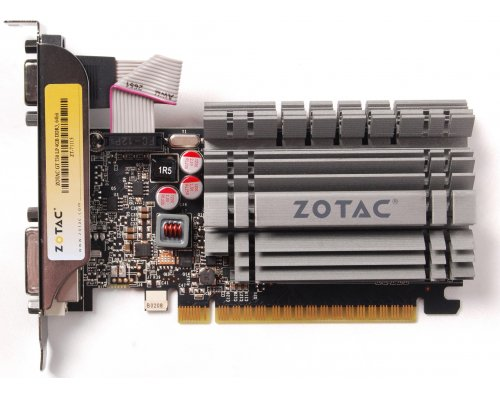 GRÁFICA nVIDIA ZOTAC GT730 ZONE EDITION LP SILENT 4GB GDDR3