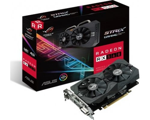 GRÁFICA AMD ASUS ROG STRIX RX560 GAMING 4GB GDDR5
