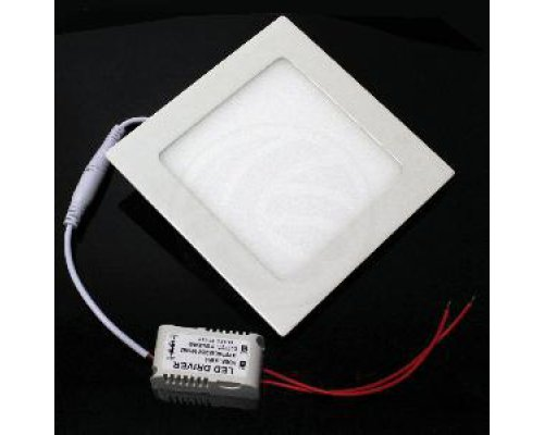PANEL LED CUADRADO DOWNLIGHT DE 225MM 18W BLANCO CÁLIDO