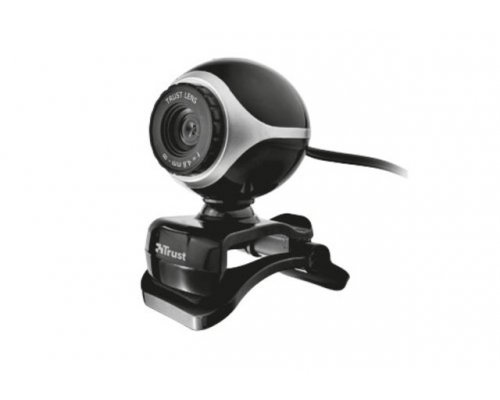 WEBCAM TRUST EXIS BLACK/SILVER