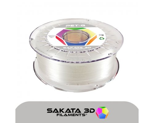 FILAMENTO 3D PETG SAKATA NATURAL 1Kg 1.75mm