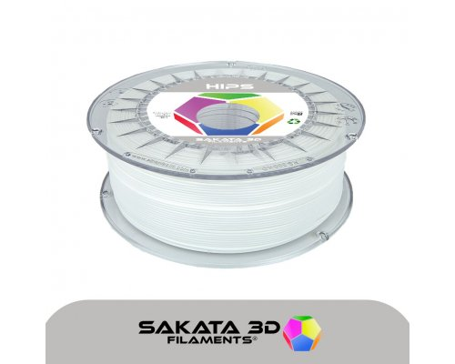 FILAMENTO 3D HIPS SAKATA NATURAL 1Kg 1.75mm