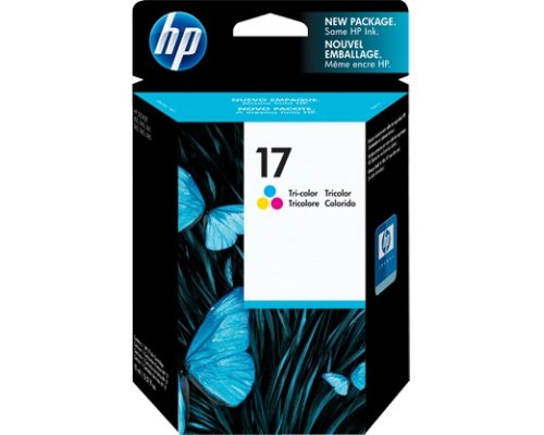 CARTUCHO ORIGINAL HP 17 TRICOLOR (C6625A)