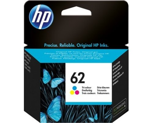 CARTUCHO ORIGINAL HP 62 TRICOLOR (C2P06AE)
