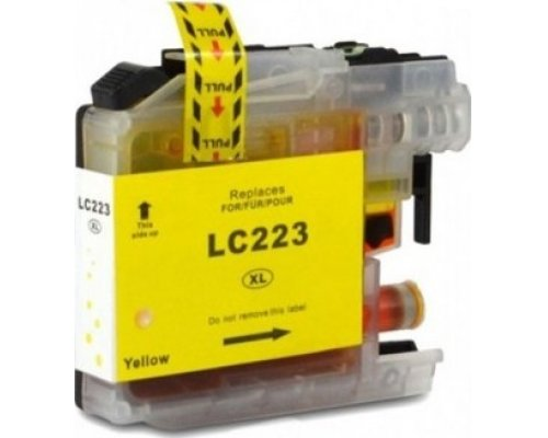CARTUCHO COMPATIBLE BROTHER LC-223Y AMARILLO