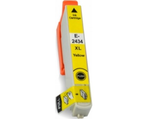 CARTUCHO COMPATIBLE EPSON T2434 (24XL) AMARILLO