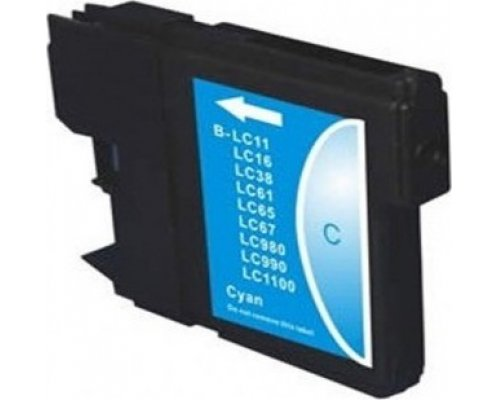 CARTUCHO COMPATIBLE BROTHER LC985C CIAN