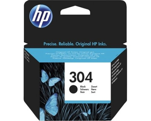 CARTUCHO ORIGINAL HP 304 NEGRO (N9K06AE)