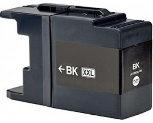 CARTUCHO COMPATIBLE BROTHER LC1280BKBP NEGRO (1240/1220)