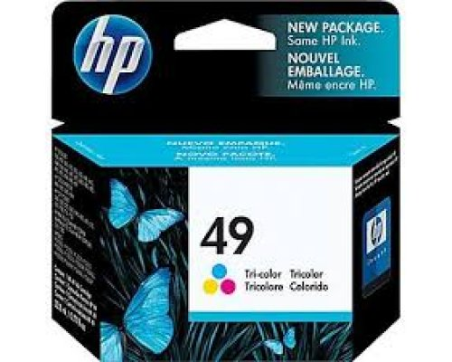 CARTUCHO ORIGINAL HP 49 TRICOLOR (51649A)