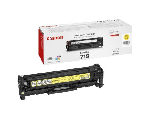 TONER YELLOW CANON MF724/728/729CX/LBP7210/7660/7680 (718)
