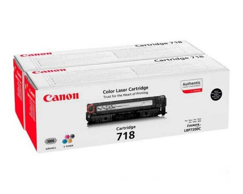TONER BLACK CANON MF724/728/729CX/LBP7210/7660/7680 (PACK 2