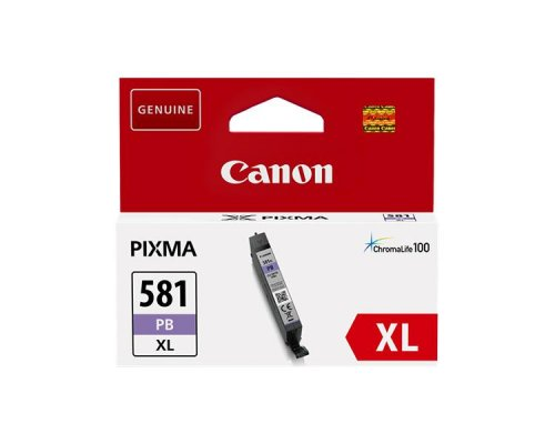 CARTUCHO TINTA PHOTO BLUE CANON CLI-581 XL