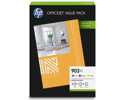 CARTUCHO ORIGINAL HP 903XL MULTIPACK COLORES
