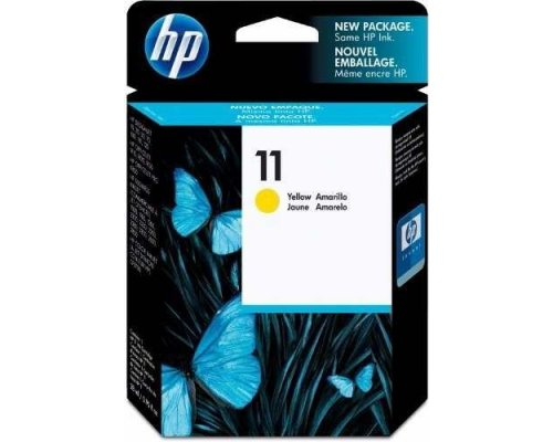 CARTUCHO ORIGINAL HP 11 AMARILLO (C4838A)