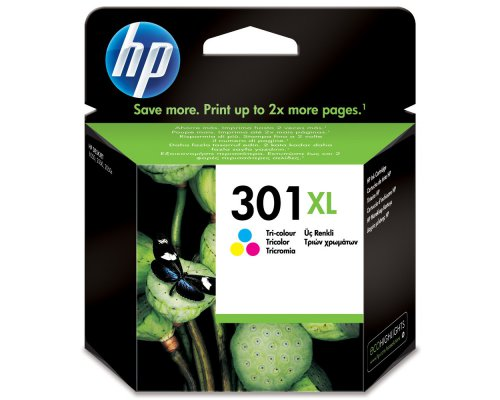 CARTUCHO ORIGINAL HP 301XL TRICOLOR (CH564EE)