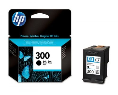CARTUCHO ORIGINAL HP 300 NEGRO (CC640EE)