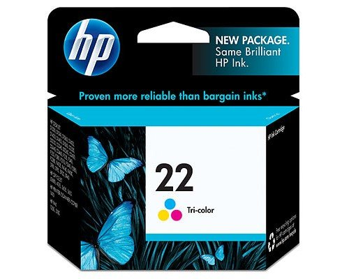 CARTUCHO ORIGINAL HP 22 TRICOLOR (C9352AE)