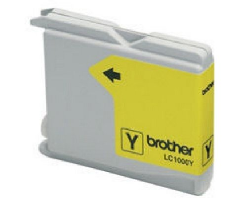 CARTUCHO COMPATIBLE BROTHER LC1000Y/LC970Y AMARILLO