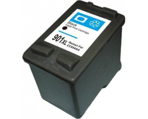 CARTUCHO COMPATIBLE HP 901XL NEGRO CC654AE/CC653AE