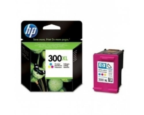 CARTUCHO ORIGINAL HP 300XL TRICOLOR (CC644EE)