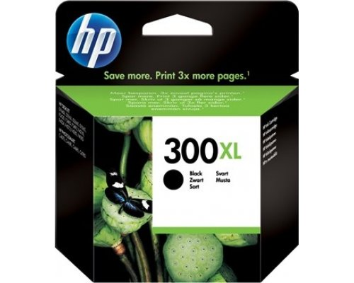 CARTUCHO ORIGINAL HP 300XL NEGRO (CC641EE)