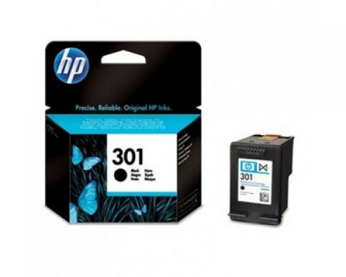 CARTUCHO ORIGINAL HP 301 NEGRO