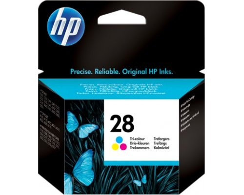 CARTUCHO ORIGINAL HP 28 TRICOLOR (C8728AE)