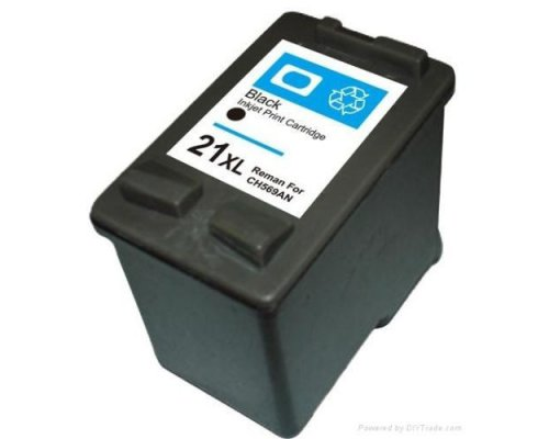 CARTUCHO COMPATIBLE HP 21XL NEGRO