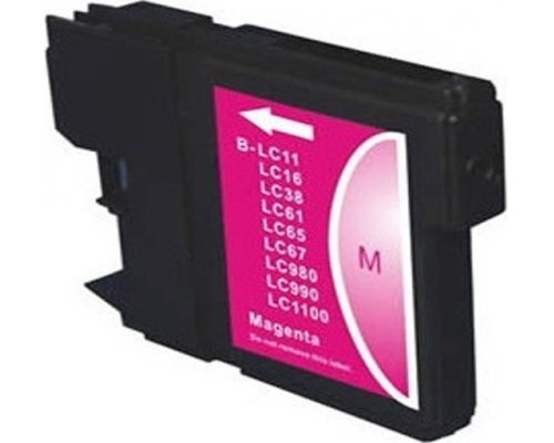 CARTUCHO COMPATIBLE BROTHER LC1100M/LC980M MAGENTA