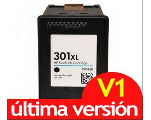 CARTUCHO COMPATIBLE HP 301XL V1 NEGRO